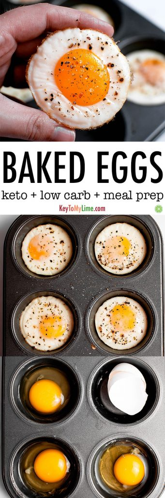 How to bake eggs in a muffin tin in the oven.