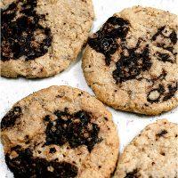Oat Flour Cookies