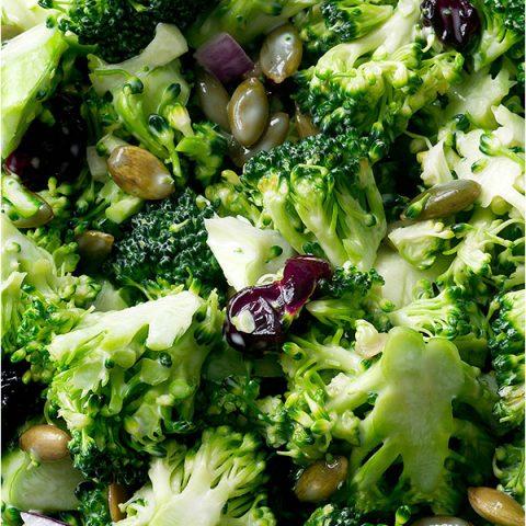 Broccoli Salad Recipe Cranberries