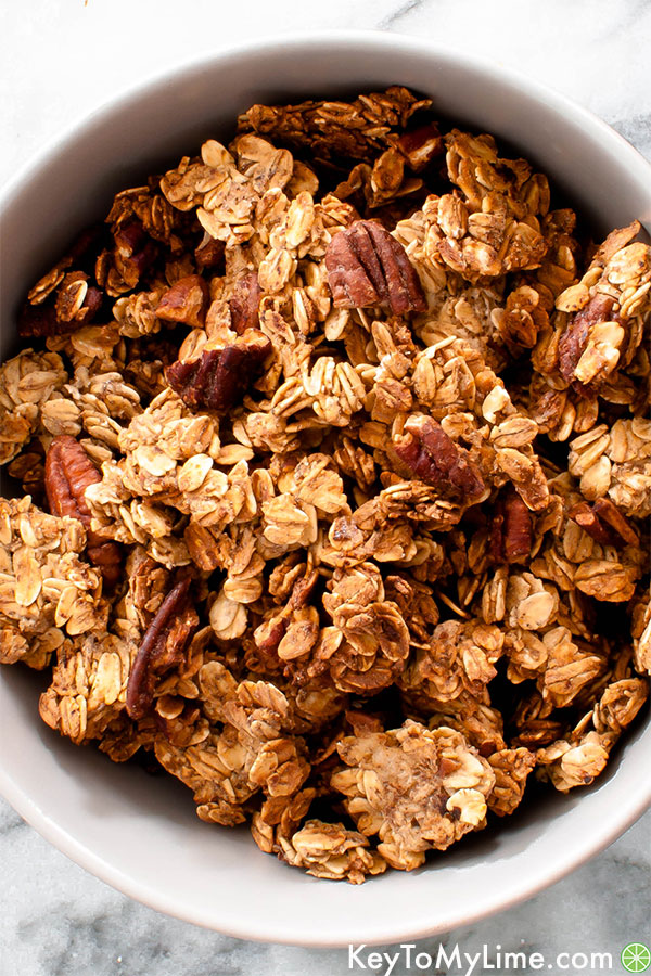 Vegan Oil-Free Granola