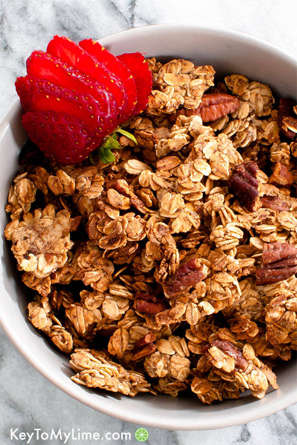 Vegan Oil-Free Granola (Healthy and Easy!)