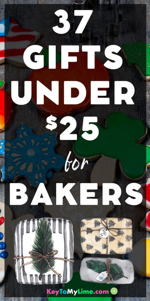 The best gifts under $25 for people who love to bake.