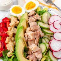 Chicken Caesar Cobb Salad