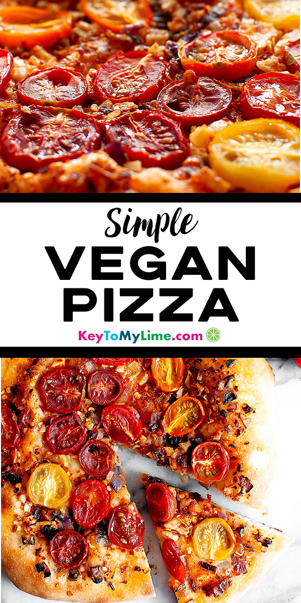 Cheeseless pizza, how to make cheeseless pizza, cheeseless pizza recipe, cheeseless pizza toppings, cheeseless pizza ideas, vegan pizza, vegan pizza dough, vegan pizza recipe, vegan pizza toppings, healthy vegan pizza, easy vegan pizza, gluten free vegan pizza, vegan pizza veggies, margherita vegan pizza, best vegan pizza, simple vegan pizza, quick vegan pizza, how to make vegan pizza. #veganpizza #vegan #plantbased #pizza | keytomylime.com