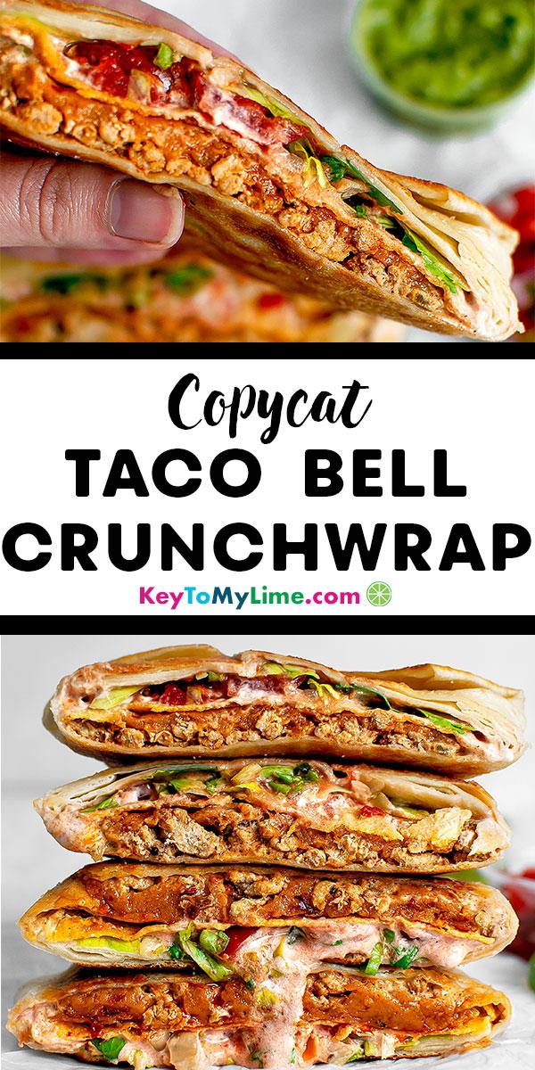 Crunchwrap supreme, crunchwrap, crunchwrap supreme recipe, crunchwrap recipe, crunchwrap supreme copycat, crunchwrap supreme homemade, crunchwrap supreme taco bell, crunchwrap supreme chicken, homemade crunchwrap, taco bell crunchwrap, DIY crunchwrap, xxl crunchwrap, crunchwrap fold, copycat taco bell recipes, copycat taco bell, Mexican food recipes, Mexican food | #crunchwrap #tacobell #mexicanfood #copycat keytomylime.com