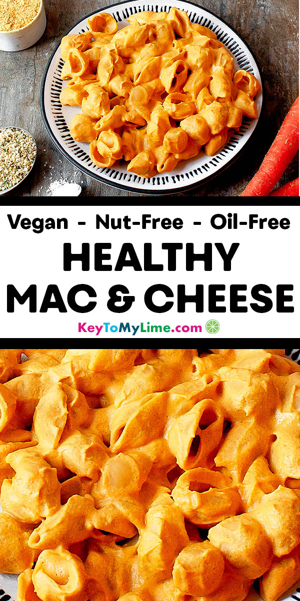 Healthy mac and cheese, healthy mac and cheese clean eating, healthy macaroni and cheese, healthy mac and cheese recipe, healthy mac and cheese for kids, healthy mac and cheese easy, healthy mac and cheese with veggies, vegan mac and cheese, vegan mac and cheese easy, vegan mac and cheese nutritional yeast, vegan mac and cheese nut free, vegan mac and cheese recipe, vegan mac and cheese with veggies, best vegan mac and cheese, healthy vegan mac and cheese | #vegan #macandcheese keytomylime.com