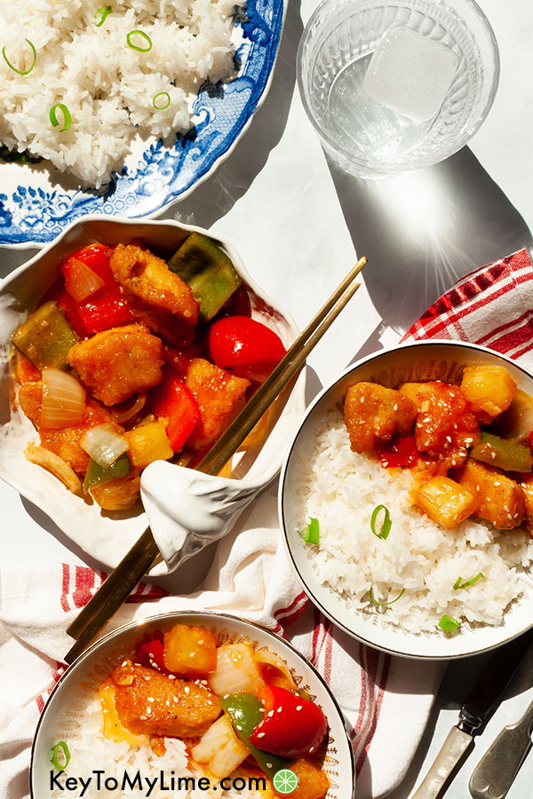 Sweet And Sour Chicken Recipe With Video Key To My Lime